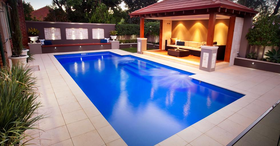Regal Large Pool by Greenwest Pools, Spa