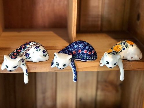 Ceramic Hanging Cat
