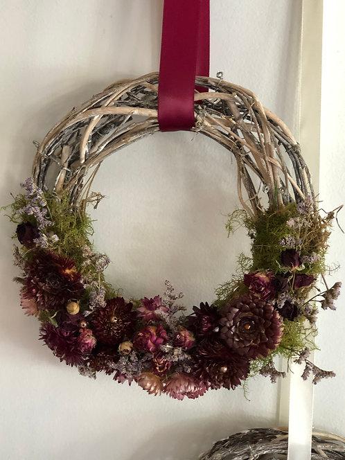 Dry wreaths