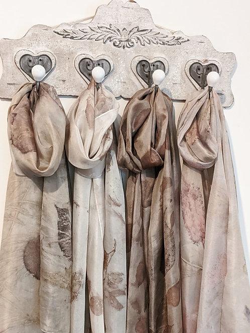Eco Printed Silk Scarves