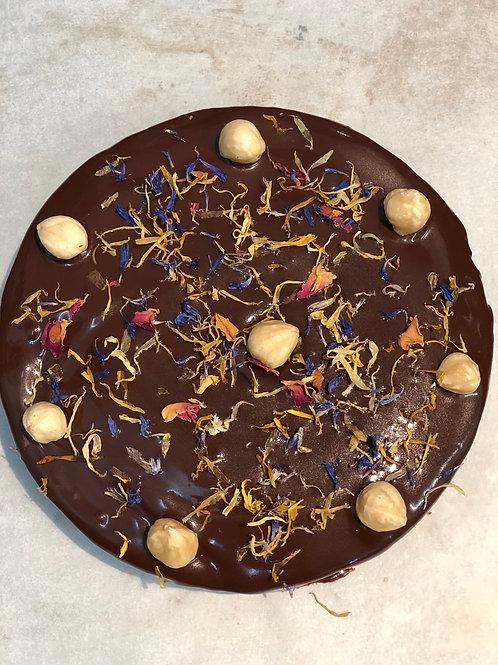 Chocolate Hazelnut Flourless Cake