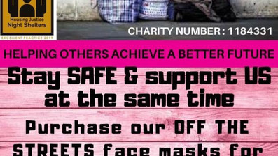 STAY SAFE AND SUPPORT A GOOD CAUSE