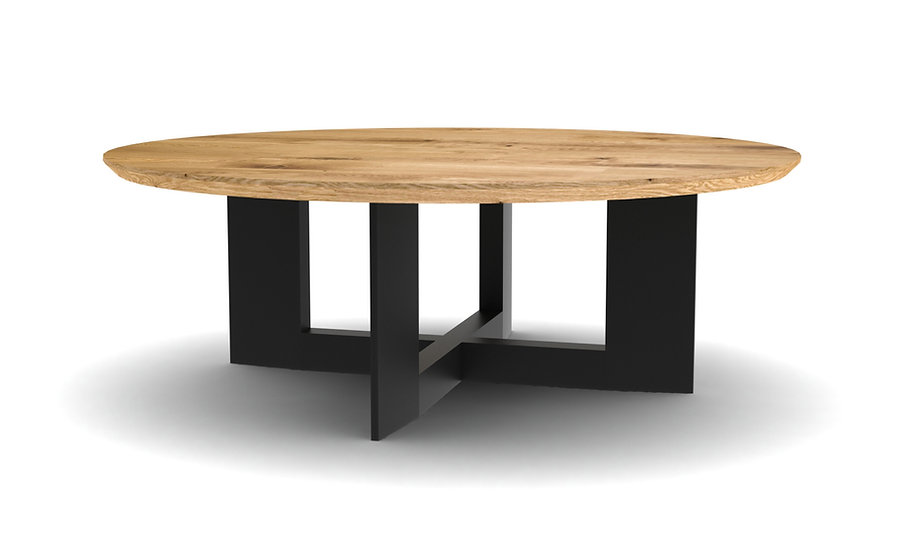 Split Round Coffee Table