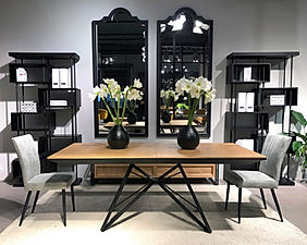 Spider Dining Table +Enigma Bookcase + K