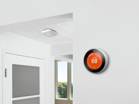 Nest Thermostats are now a common smart home feature implemented by property developers