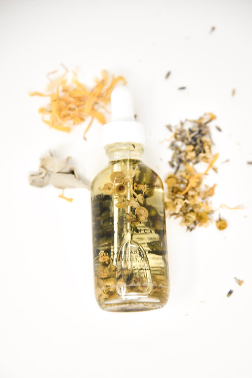 CLARY SAGE AND YARROW FERTILITY OIL