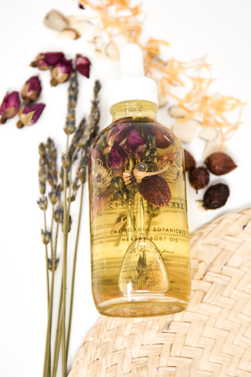 CALIFORNIA BOTANICALS BODY OIL