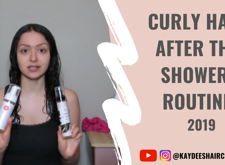 2019 Updated After-the-Shower Routine Video