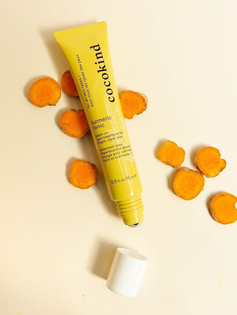 Cocokind Skincare turmeric tonic spot treatment