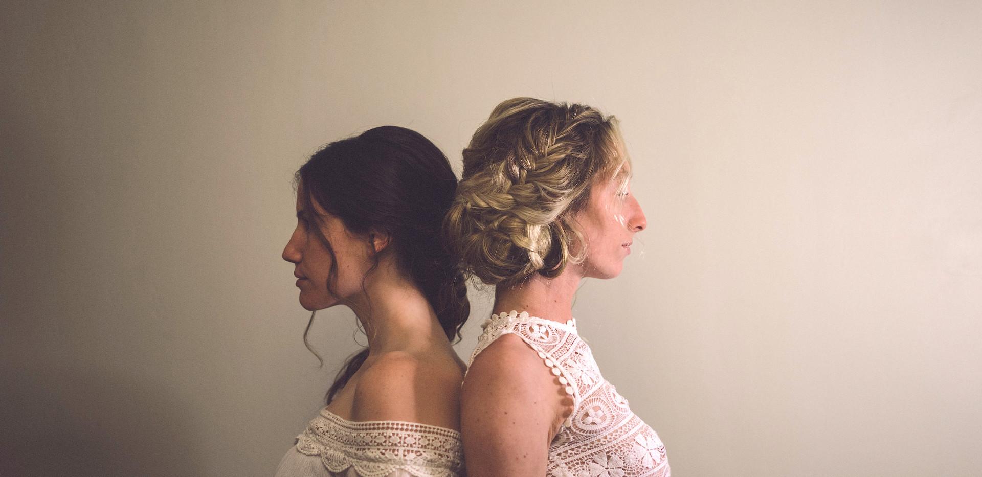 Hairstylist: Kaydee Traghella  Photographer: Nia Sherie Photo  Models: Maria Anthony & Celena Dionne  Stylist: Kaydee Traghella