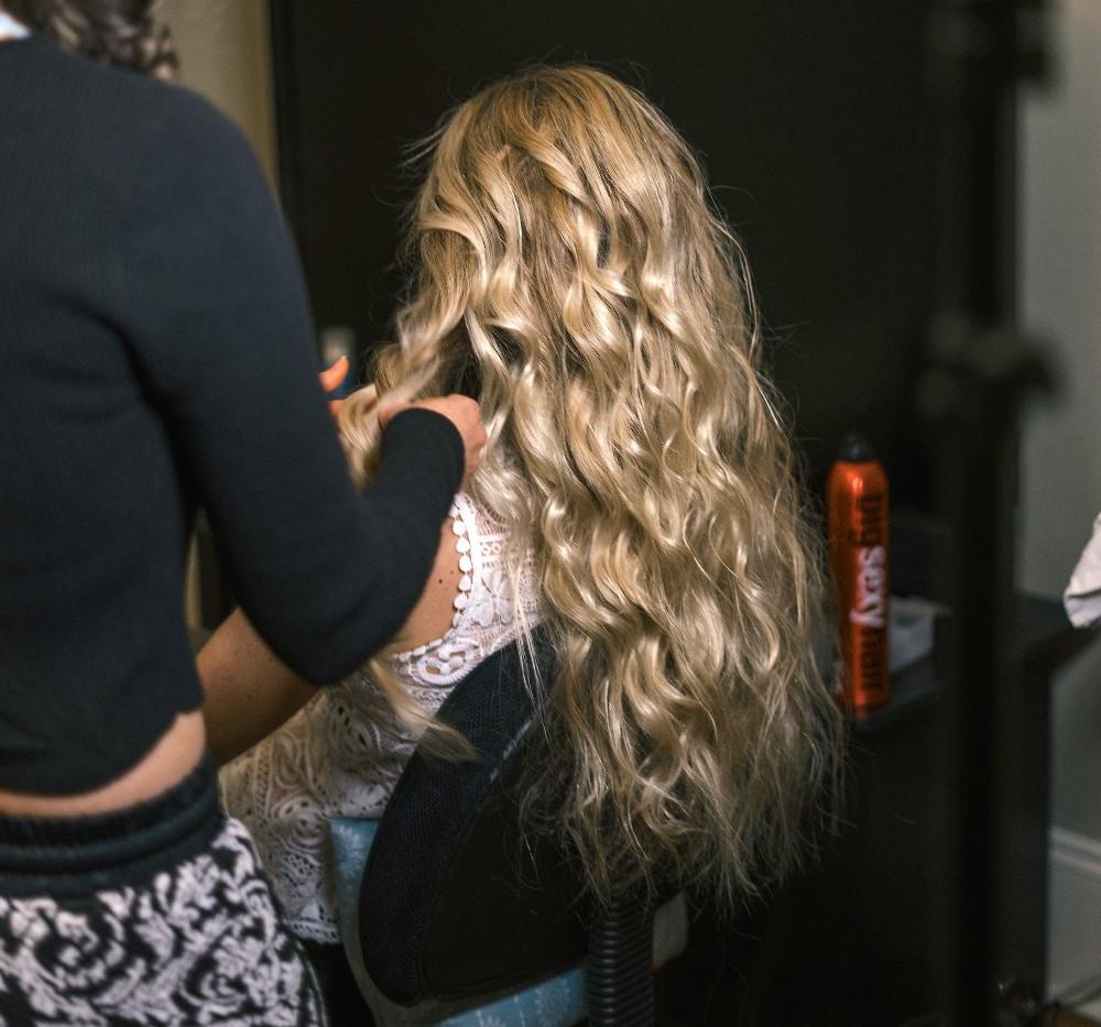 Hairstylist: Kaydee Traghella  Photographer: Nia Sherie Photo  Model: Celena Dionne