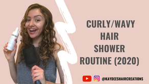 Video: My Curly / Wavy Hair Shower Routine- {Updated 2020}