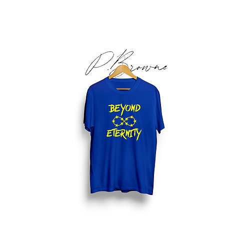 """""""Forever"""" Tee (Blue & Yellow)"""