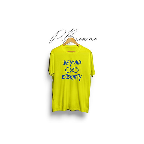 """""""Forever""""  Tee  (Yellow & Blue)"""