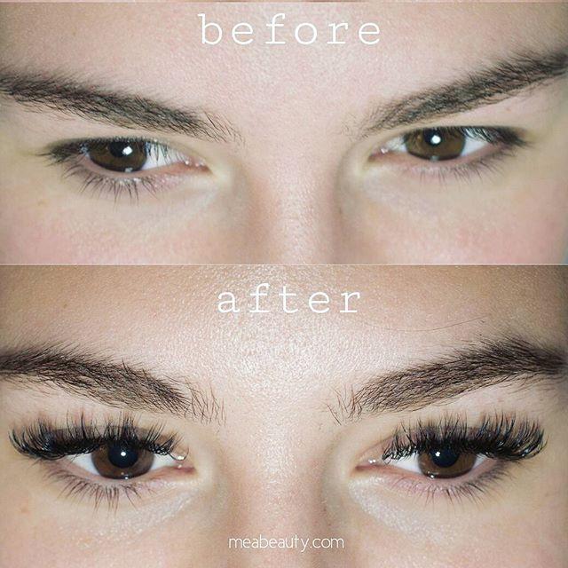 Volume Set #beforeandafter #eyelashexten