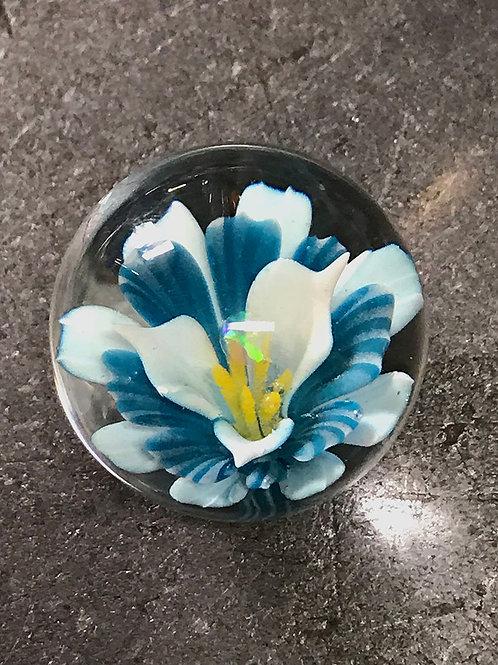 Opal flower marble