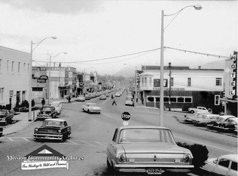 "Mission's ""Main Street"" - 1962"