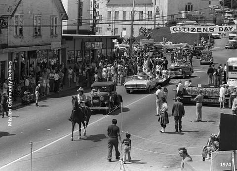 Mission's Citizens' Days 1970s