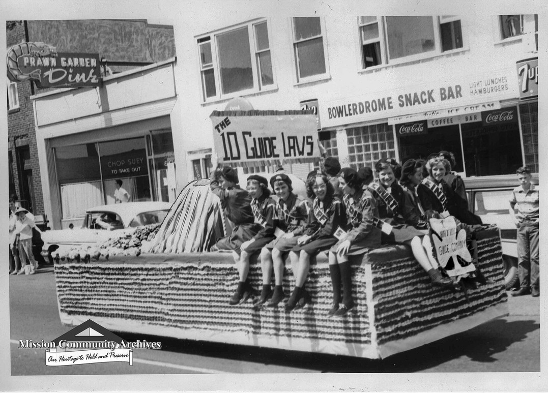 Elk's Mission May Day Parade - 1961