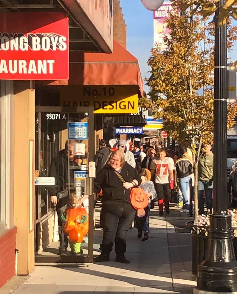 Halloween Downtown