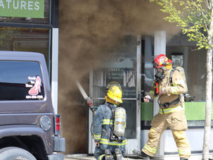 The Record - Downtown fire highlights wisdom behind province reserving firefighters for emergencies