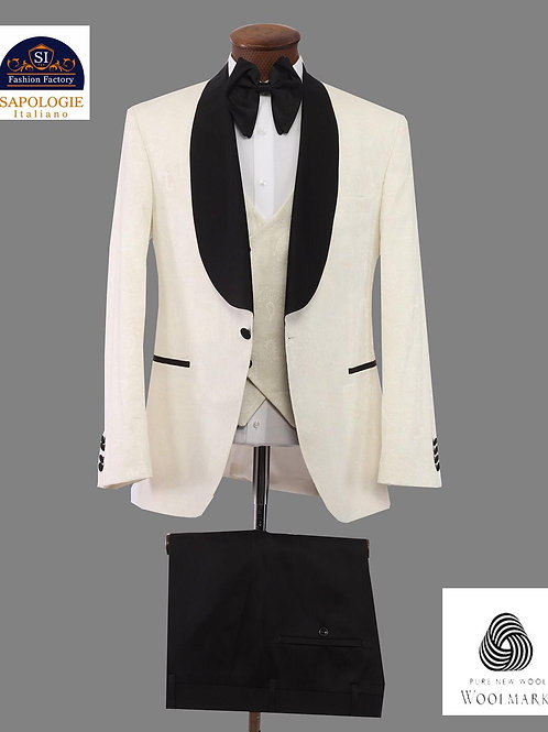 Tuxedo white and Black