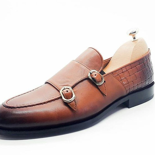 buckle loaffers brown