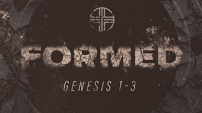 Formed, Sermon Series in Genesis 1-3