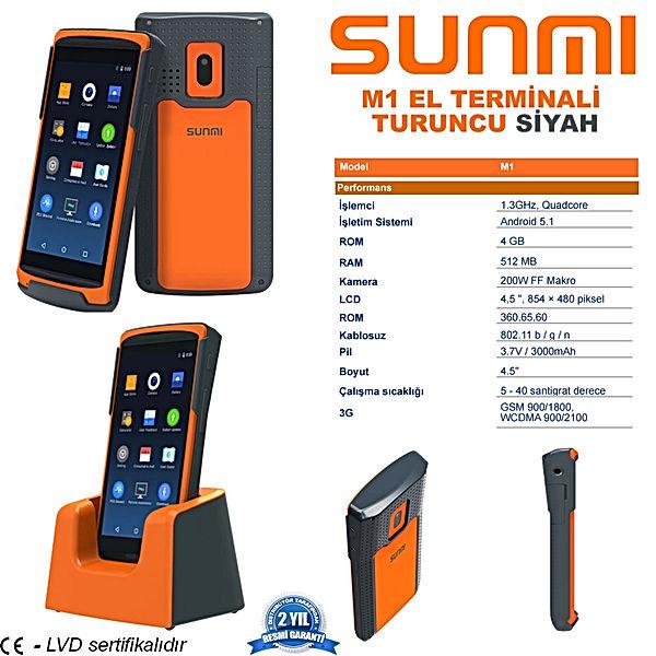 sunmi m1 terminal