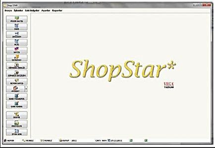 vega yazılı shop star