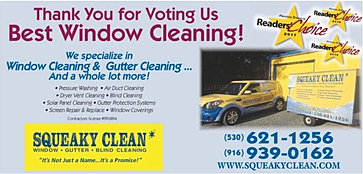 Squeaky Clean Sacramento Squeaky Clean Window Cleaners