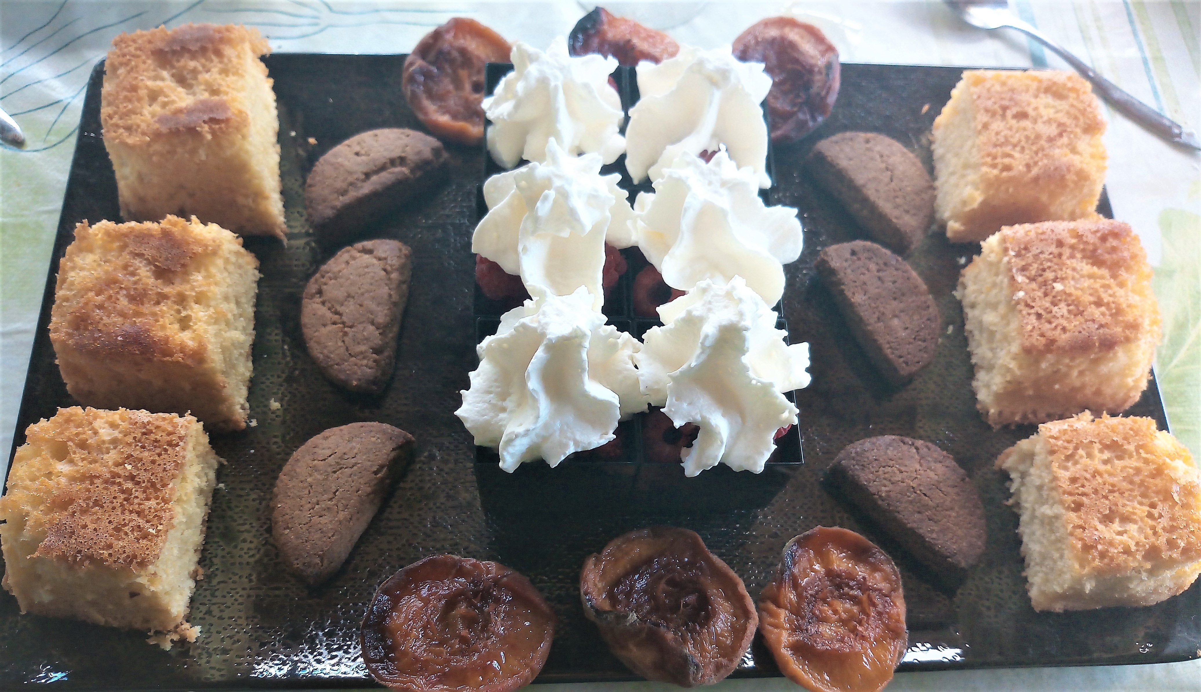 Tapas desserts