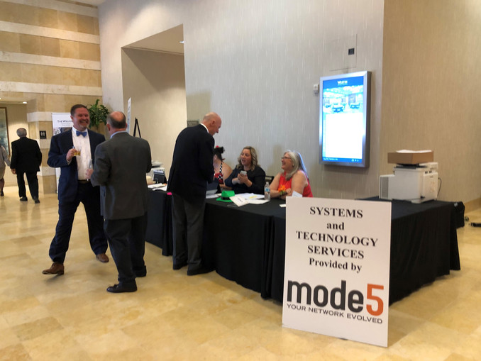 Mode5 Assists the Tidewater Council of the Boy Scout's of America at Their Annual Gala.