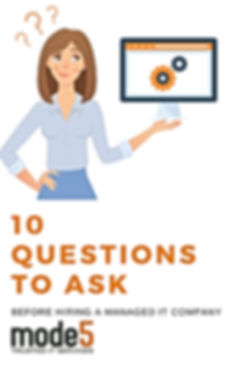 Mode5 free eBook -10 Questions to Ask be