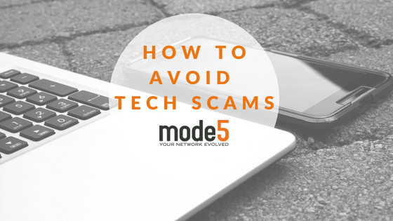 How to Avoid Tech Scams