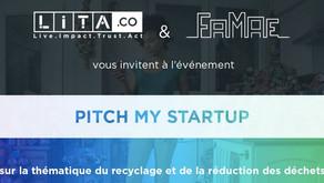 Tryon participe au concours « Pitch my Start'up », avec Lita.co et la fondation FAMAE