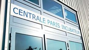 Arrivée à l'incubateur de Centrale Paris