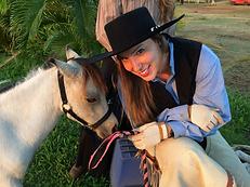 Julio with Na Lio Rider