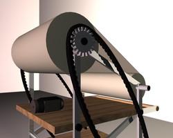 Drawing Machine 3D Model