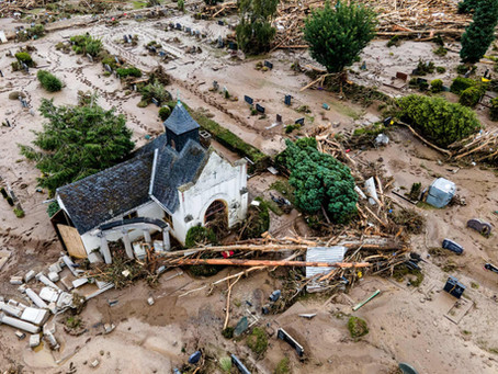 Devastating flooding in Europe