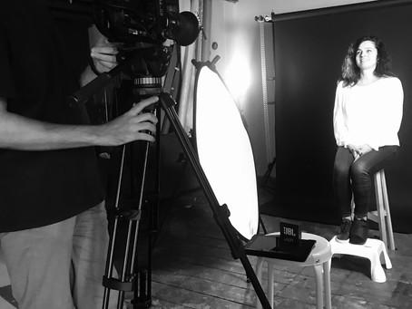 Music video shoot - The Bluebird's Egg