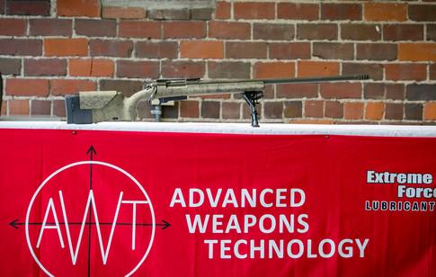 HS Precision stocked custom rifle