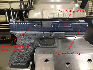 Glock Slide Work