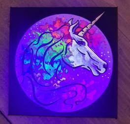 Rainbow Unicorn - UV