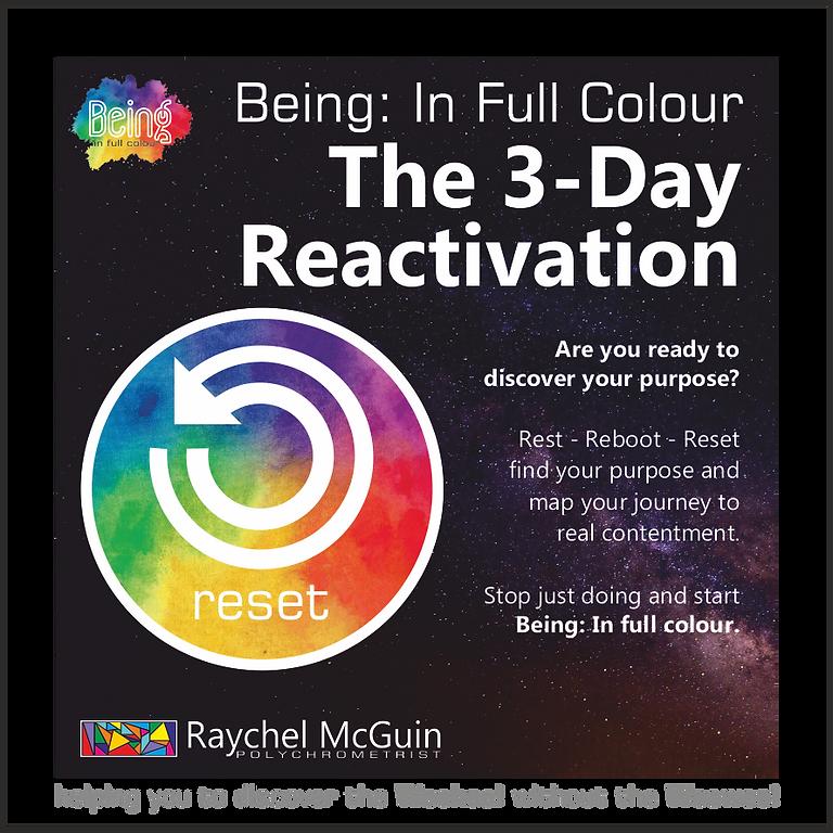 3-Day Reactivation Workshop