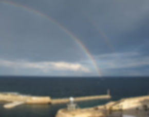 Double Rainbow in Malta
