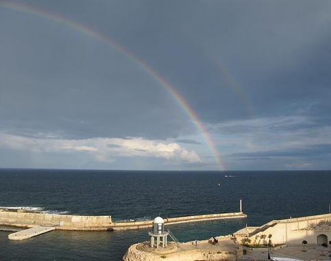 Double Rainbow in Malta