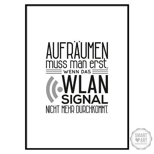 "Kunstdruck ""Wlan Signal"""