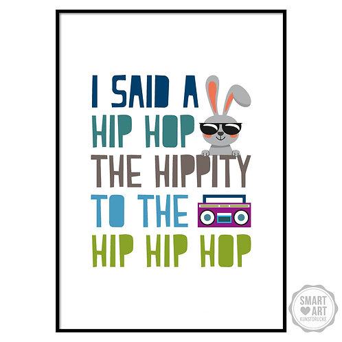"Kunstdruck ""Hip Bunny"""