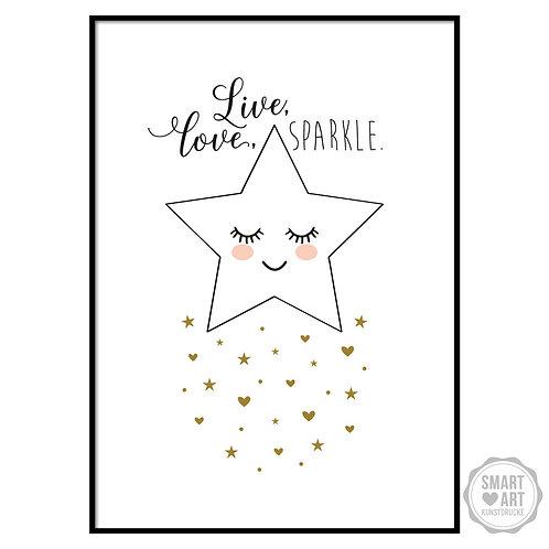 """Kunstdruck """"Star"""""""